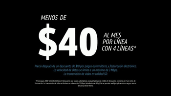 AT&T Unlimited Plan TV Spot, 'Una vida sin limites' [Spanish] - Thumbnail 5