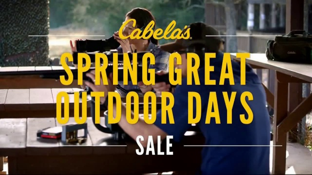 Cabela's Spring Great Outdoor Days Sale TV Commercial, 'Safe'