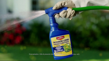 Bayer Advanced Season Long Weed Control TV Spot, 'Six Months' - Thumbnail 3