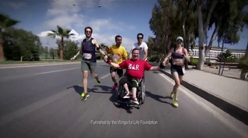 Wings for Life World Run TV Spot, 'Running for Those Who Can't' - Thumbnail 3