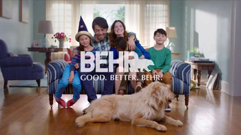 BEHR Paint Premium Plus TV Spot, 'One Home, Many Lives'