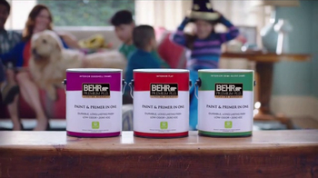 BEHR Paint Premium Plus TV Spot, 'One Home, Many Lives' - Thumbnail 8