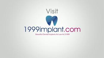 1999Implant.com TV Spot, 'Really Make You Smile' - Thumbnail 6