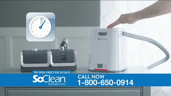 SoClean TV Spot, 'CPAP Cleaner and Sanitizer' - Thumbnail 8