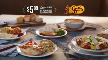 Cracker Barrel Old Country Store & Restaurant TV Spot, 'Sombrero' [Spanish] - Thumbnail 6