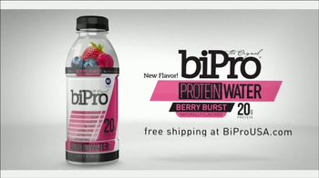 BiPro Protein Water TV Spot, 'Nutrition' Featuring Ben Leber - Thumbnail 10