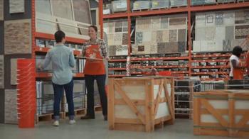 The Home Depot TV Spot, 'Marazzi Vita Elegante Tile' - Thumbnail 5