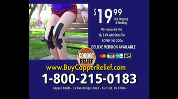Copper Relief TV Spot, 'Knee Joint Pressure' - Thumbnail 9