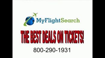 MyFlightSearch TV Spot, 'Do You Want to Fly Somewhere?' - Thumbnail 1
