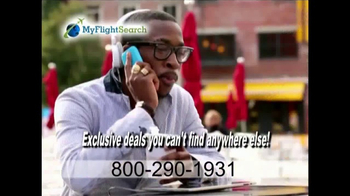 MyFlightSearch TV Spot, 'Do You Want to Fly Somewhere?' - Thumbnail 4