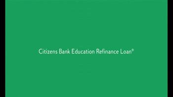 Citizens Bank Education Refinance Loan TV Spot, 'Student Debt' - Thumbnail 5
