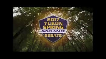 Yukon Gear & Axle TV Spot, '2017 Yukon Spring Drivetrain Rebate' - Thumbnail 2