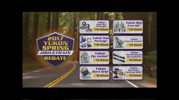 Yukon Gear & Axle TV Spot, '2017 Yukon Spring Drivetrain Rebate' - Thumbnail 5