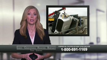 SGPB Law TV Spot, 'Commercial Trucking Accident' - Thumbnail 8