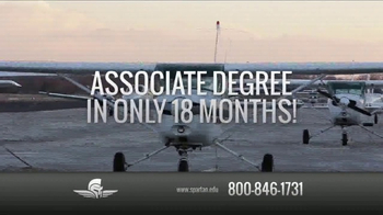 Spartan College of Aeronautics and Technology TV Spot, 'Airframe Program' - Thumbnail 4