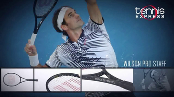 Tennis Express TV Spot, 'Champion Tennis Rackets'