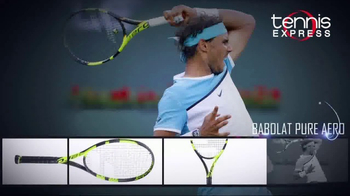 Tennis Express TV Spot, 'Champion Tennis Rackets' - Thumbnail 4