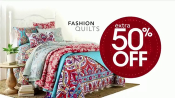 Stein Mart 12 Hour Sale TV Spot, 'Ladies Active and Fashion Quilts' - Thumbnail 5