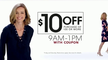 Stein Mart 12 Hour Sale TV Spot, 'Ladies Active and Fashion Quilts'