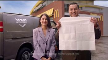 McDonald's Quarter Pounder Burgers TV Spot, 'Servilletas' [Spanish] - Thumbnail 7