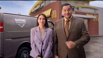 McDonald's Quarter Pounder Burgers TV Spot, 'Servilletas' [Spanish] - 17 commercial airings