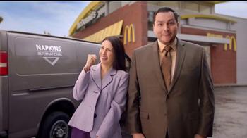 McDonald's Quarter Pounder Burgers TV Spot, 'Servilletas' [Spanish] - Thumbnail 2