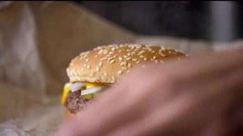 McDonald's Quarter Pounder Burgers TV Spot, 'Servilletas' [Spanish] - Thumbnail 4