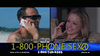 1-800-PHONE-SEXY TV Spot, 'Just What You're Looking For' - Thumbnail 8