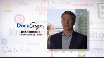 Oracle Cloud TV Spot, 'Oracle Cloud Customers: DocuSign' - 156 commercial airings