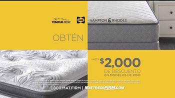 Mattress Firm Oportunidad Para Grandes Ahorros TV Spot, 'Ventas' [Spanish] - Thumbnail 5