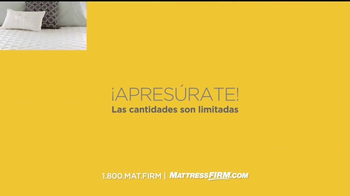 Mattress Firm Oportunidad Para Grandes Ahorros TV Spot, 'Ventas' [Spanish] - Thumbnail 7