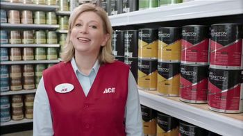 ACE Hardware Buy Two Get One Free Paint Sale TV Spot, 'Lots to Choose From' - Thumbnail 1