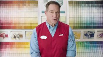 ACE Hardware Buy Two Get One Free Paint Sale TV Spot, 'Lots to Choose From' - Thumbnail 4