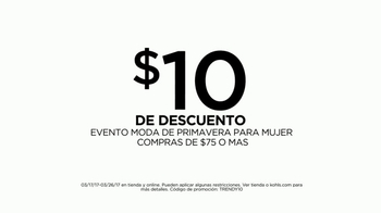 Kohl's Women's Spring Style Event TV Spot, 'Tendencias' [Spanish] - Thumbnail 6