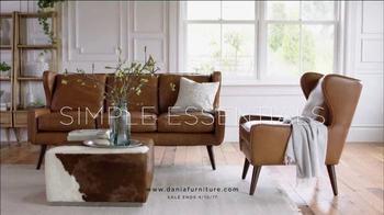 Dania Furniture TV Spot, 'Hand-Selected Essentials' - Thumbnail 5