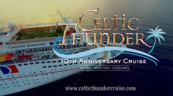 Celtic Thunder Cruise TV Spot, '10th Anniversary Cruise' - Thumbnail 7