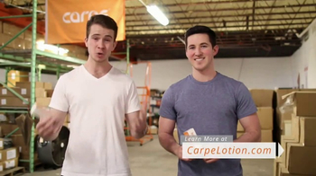 Carpe Antiperspirant Lotion TV Spot, 'Grateful Customers' - Thumbnail 10