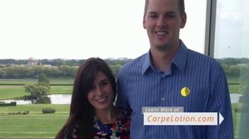 Carpe Antiperspirant Lotion TV Spot, 'Grateful Customers' - Thumbnail 7