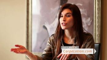 Carpe Antiperspirant Lotion TV Spot, 'Grateful Customers'