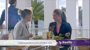 Xarelto TV Spot, 'Most Challenging Opponent' Ft. Katie Hoff, Brian Vickers - Thumbnail 9
