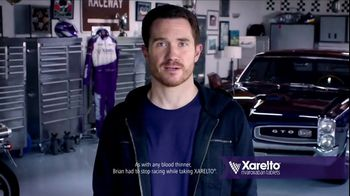 Xarelto TV Spot, 'Most Challenging Opponent' Ft. Katie Hoff, Brian Vickers - 7378 commercial airings