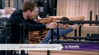 Xarelto TV Spot, 'Most Challenging Opponent' Ft. Katie Hoff, Brian Vickers - Thumbnail 6