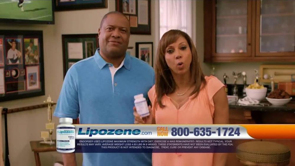 Lipozene TV Commercial, 'Favorite Foods' Feat. Rodney Peete, Holly Robinson Peete