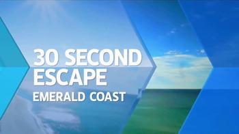 Florida's Emerald Coast TV Spot, 'Travel Channel: Escape' - Thumbnail 2