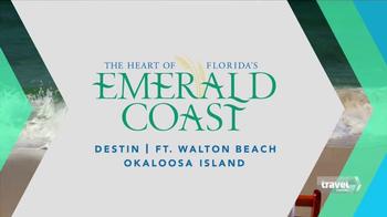 Florida's Emerald Coast TV Spot, 'Travel Channel: Escape' - Thumbnail 9