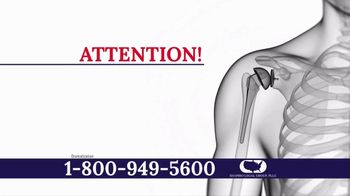 Shapiro Legal Group TV Spot, 'Zimmer Biomet Implant' - Thumbnail 1
