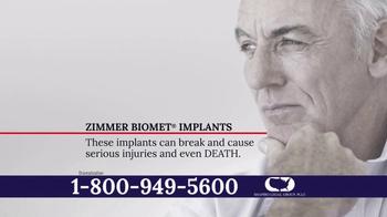 Shapiro Legal Group TV Spot, 'Zimmer Biomet Implant' - Thumbnail 5