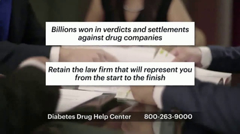 Weitz and Luxenberg TV Spot, 'Diabetes Drug Help Center' - Thumbnail 9
