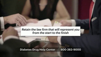 Weitz and Luxenberg TV Spot, 'Diabetes Drug Help Center' - Thumbnail 8