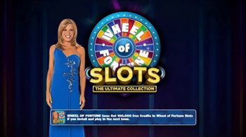 Wheel of Fortune Slots Casino TV Spot, 'On the Go' Featuring Vanna White